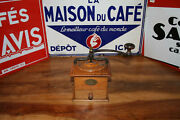 Lovelly Vintage Wood Peugeot Valentiney Coffee Mill Size 2 -114 Mm 20201002