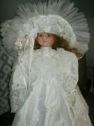 Regency Dolls Bride, Jessica, Bisque Porcelain Only 2500 Made Beautiful Doll