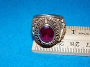 Vintage - Military Army Field Artillery Ring - Size 7.5 - Nos - Alpha Brand