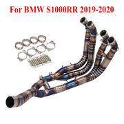 S1000rr Header Pipe Motorcycle Titanium Front Link Tube For Bmw S1000rr 2019-20