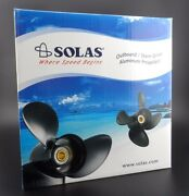 Solas Saturn 3 Propeller For Suzuki And Johnson Outboard 4231-100-14 3x10x14