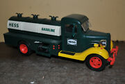 Vintage 1985 Hess Battery Operated Toy Tanker Truck