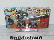 New Monster Jam Hot Wheels Mighty Minis Northern Nightmare Outlaw Car Toy 2013