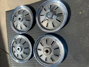1964 Corvette Early Hubcaps Wheel Cover Set
