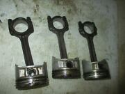 Yamaha 50hp 4 Stroke Outboard Piston And Rod Set Of 3 62y-11631-00-96