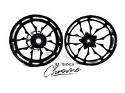 Honda 240 Fat Tire Black Contrast Recluse Wheels 2003 Honda Cbr1000rr