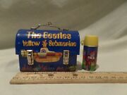 Rare Vintage 2001-2002 The Beatles Yellow Submarine Mini Dome Lunch Box With