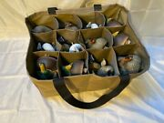 12 Slot Life Size Series Custom Decoy Bag, 3 Rows For Wood Duck, Ring Neck, Teal