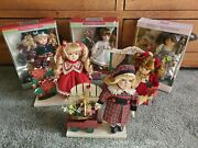 Classic Treasures And Collectable Memories Porcelain Dolls Lot Of 6