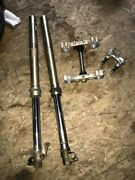 2002 Husqvarna 250 Cr Marzocchi Shiver 45mm Forks Triple Clamps Bar Mounts