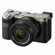 Sony Alpha A7c Ilce-7cl 28-60mm Kit Silver Ship From Eu Vite