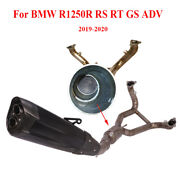 For Bmw R1250r Rs Rt Gs Adv Motorcycle Complete Exhaust Ppe Muffler Connect Tube