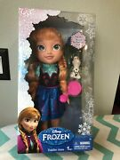 Jakks Pacific Disney Frozen Toddler Anna Doll With Olaf Royal Reflection Eyes