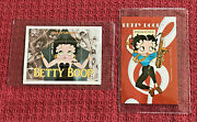 Betty Boop Stamp Souvenir Sheets - Set Of 2 - Senegal And Mongolia W/certif. '90s