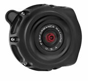 Performance Machine Vintage Air Cleaners Black Ops 0206-2142-smb