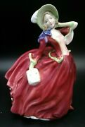 Royal Doulton Autumn Breezes Figurine H.n. 1934 Corp 1939 Rd And Co Limited