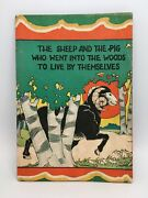 The Sheep And The Pig Who Went Into The Woods To Live By Themselves Vtg Kids Book