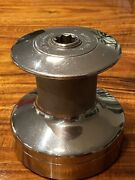 Barient Model 20 Size 18 2-speed Plain Top Stainless Steel Winch