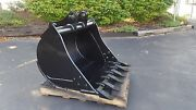 New 36 Backhoe Bucket For A John Deere 310l With Coupler Pins