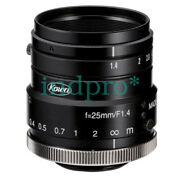 Used Kowa Fa Lm25hc-sw F1.4 25mm Industrial Lens In Good Conditon