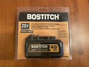 Bostitch Bcb204 20-volt Max 4 Amp-hour Lithium Power Tool Battery Free Shipping