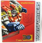 New Sealed Transformers Platinum Edition Year Of The Horse Supreme Starscream