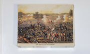 Springbok Jigsaw Puzzle Pzl4460 The Battle Of Gettysburg 500 Pc. Complete New