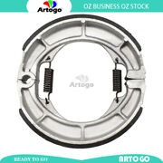 Motorcycle Brake Shoes Rear For Suzuki Sw-1 Nj45a 1992