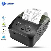 Thermal Receipt Printer Wireless Automatic Manual Portable For Android Pc Iphone