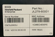 Hp Jl280a Hpe Altoline 6960 32qsfp28 X86 Onie Ac Back-to-front Switch