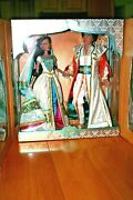 Disney Jasmine And Aladdin Limited Edition Doll Set Live Action Film 17and039and039/1 Of 750
