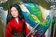 2020 Disney Mulan Limited Edition Doll Live Action Film 17''-new-1 Of 3,400
