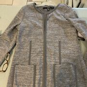 Nwt Kensie Tunic-length Knit Jacket