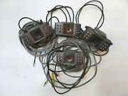 Lot Of 4 Infrared Color Camera For Pal Ntsc Systems Sic558ir/lml-20s2.5
