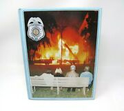 San Diego Fire Department 1983 Ca Hc/1st Ed Photos Names Book Seagrave Lafrance