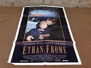 1992 Ethan Frome Original Movie House Full Sheet Poster