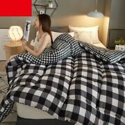 Winter High Quality Quilts Quilted Duvet Patchwork Bedding Comforter Blankets