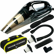Vacuum Cleaner High Power Upgraded 120w Wet And Dry Handheld Car Vacuum Cleaner