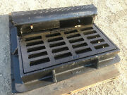 Neenah R-3290 Combination Inlet Frame Grate Curb Box Three Piece Adjustable