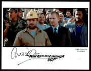 1999 The World Is Not Enough 19th Bond Movie Amid Djalili, Auto'd 8x 10