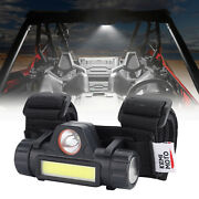 Universal Roll Bar Mount Dome Light Led Light For Utv Atv Polaris Rzr Golf Cart