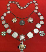 Rare Ww1 Wwi Imperial German Shooting Chain Award Kings Chain Schutzenfest Medal
