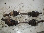 2007 Kawasaki Brute Force 650 4wd Front Axle Left Right Front Axle