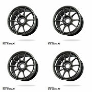 Wedssport Tc105x 18x8.5 5x112 32mm Ej Titan - Set Of Four For Vw Golf Mk7 Gti