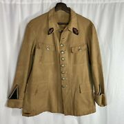 Original French Ww1 1920s Colonial Douane Tropical Tunic Indochina
