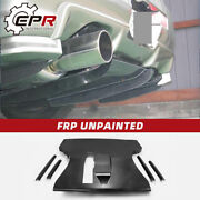 For Nissan Skyline R34 Gtt Frp Unpainted Esb Style Rear Bumer Diffuser Spoilers