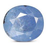 Ceylonese Blue Sapphire 7.03 Ct Unheated Agr Certified Natural Oval Gemstone