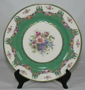 Rare Antique Rosenthal Set Of 8 Ivory Series Continental R578 Dinner Plate Mint