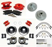 Wilwood Front And Rear Disc Brake Kit1971-1976 Capriceimpaladonkp3012 Rotors