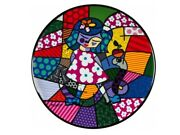 Romero Britto High Quality Porcelain Wall Plate Girl With Snake Goebel New